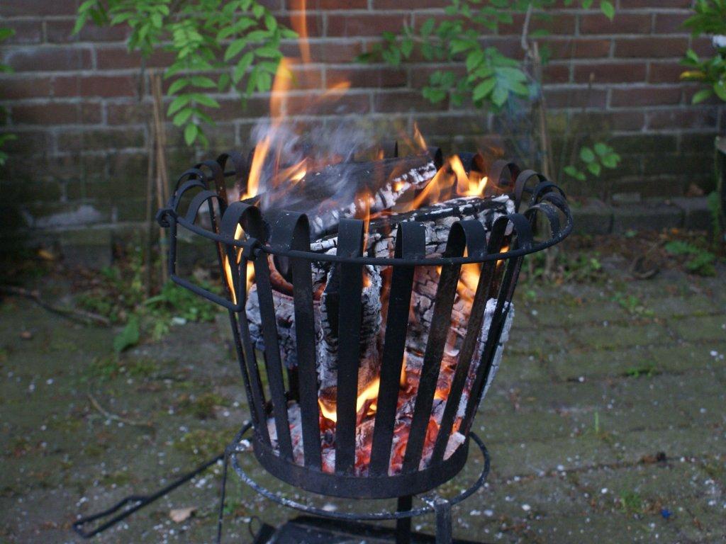 Een vuurkorf is ook beschikbaar