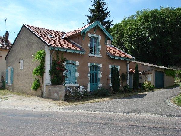 Het huis La Bleue Maison
