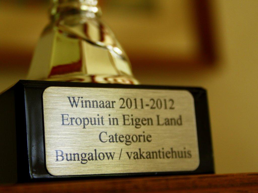 Prijs ''Mooiste huisje van Nederland''