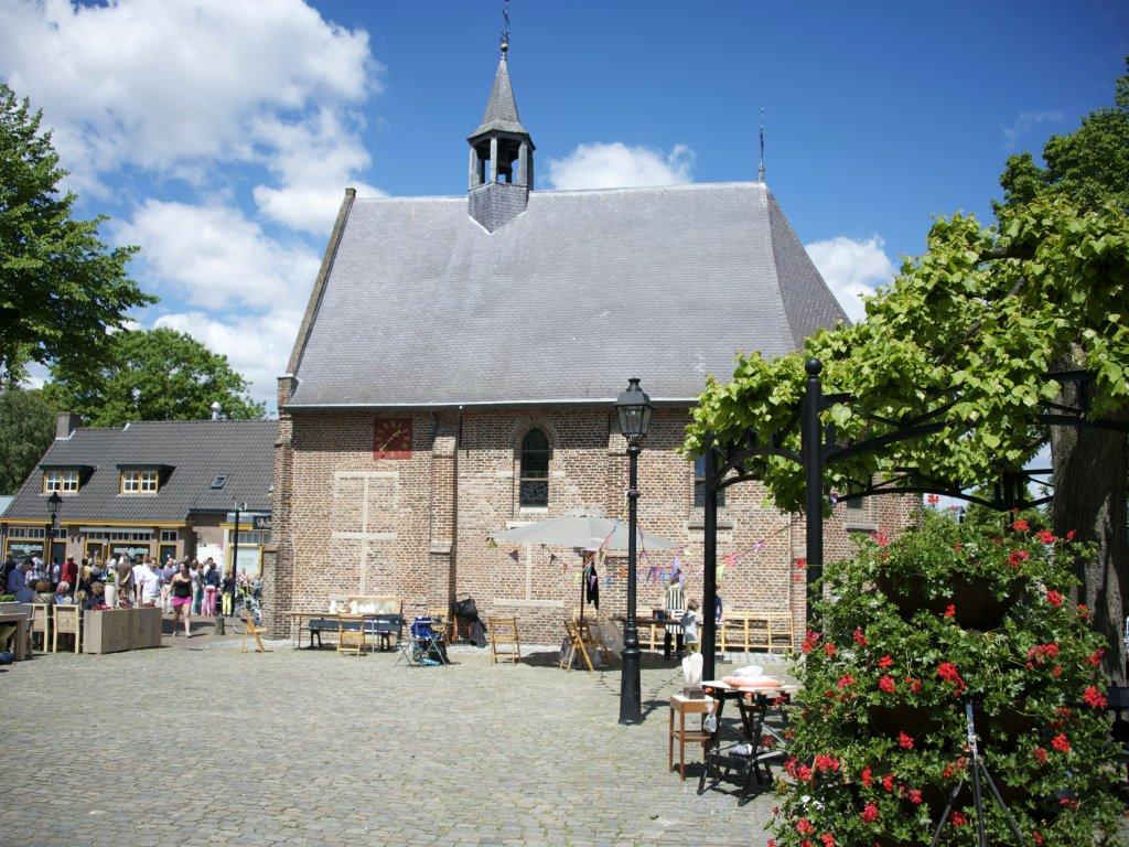 Historische markt in Eersel