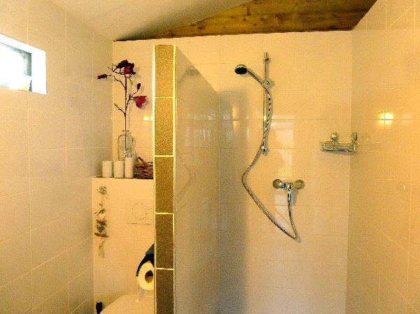 Bathroom and toilet chalet