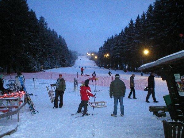 Skieen op de Erbeskopf