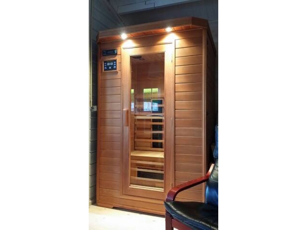 sauna in blokhut